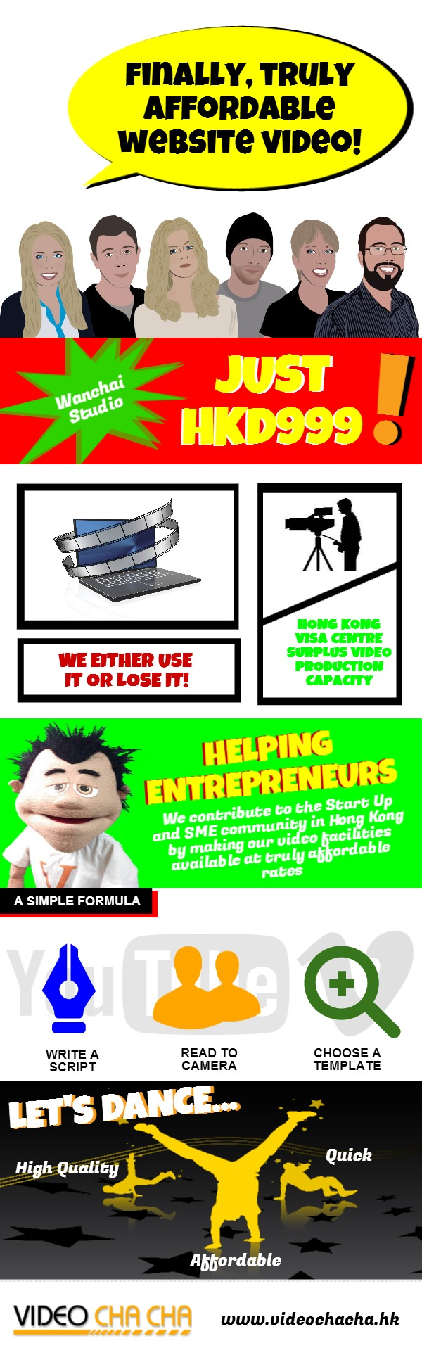 VCC Helping Entreprenurs Access Affordable Website Video